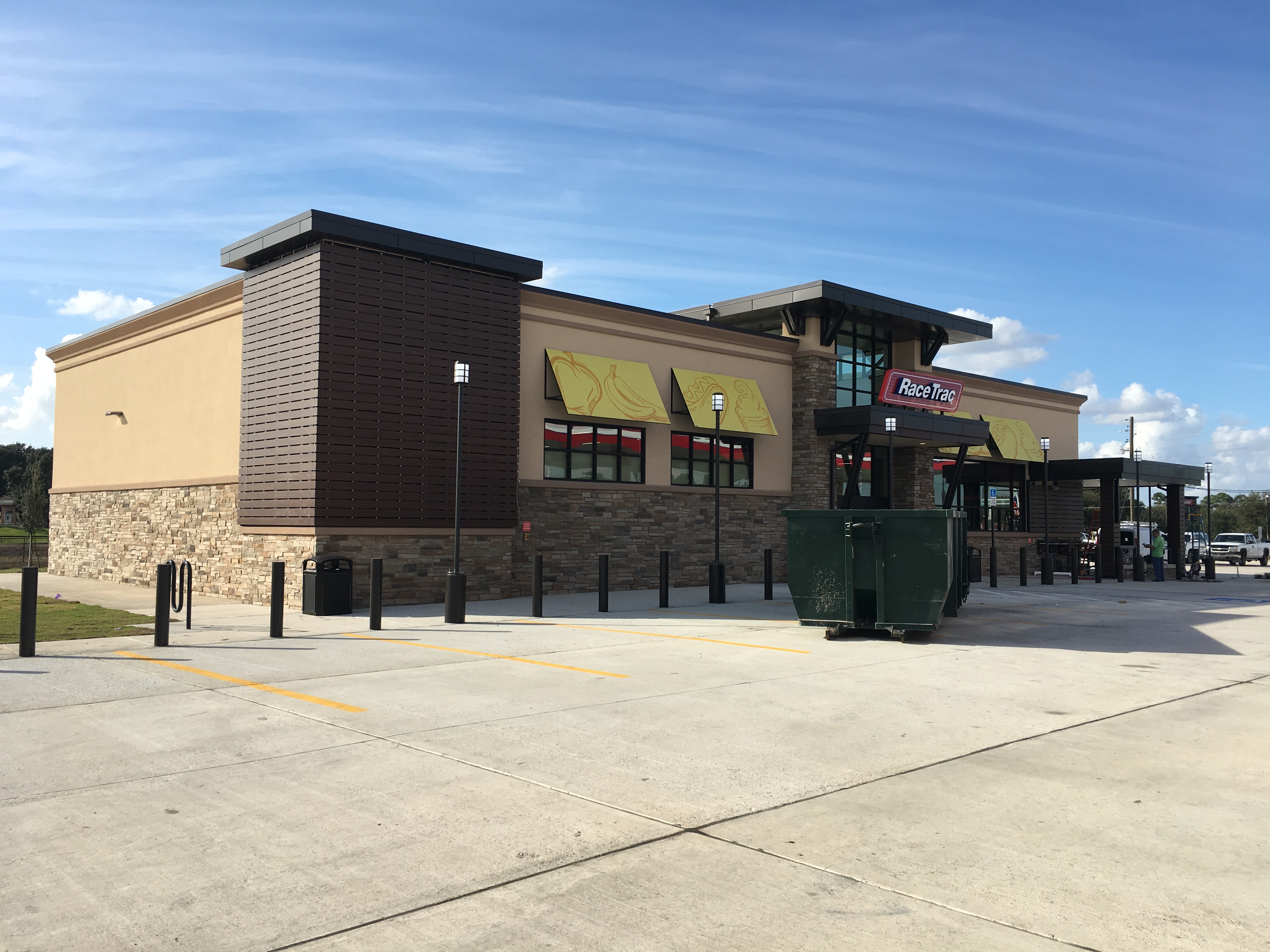 RaceTrac Gas Stations Projects by American Architecural Millwork